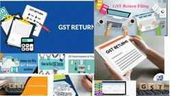 Online Tax Consultant Gst Return Filing, in Pan India