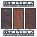 Brown Wooden Membrane Door