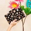 Sequins Embroidery Party Clutches