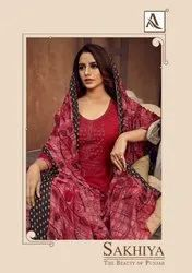 Patiyala Mix Rayon Dress Material, For Dry Clean, Size: free