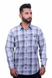 Producer Full Sleeves Mens Casual Cotton Shirts, Size: Medium