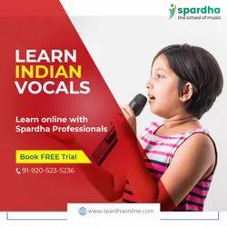 Part Time Online Vocal Music Classes