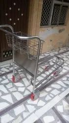 Stainless Steel Airport Trolley Without Brake