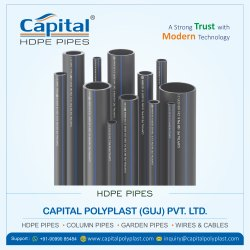 Round HDPE Pipe