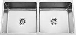 Low Radius Double Bowl Kitchen Sinks