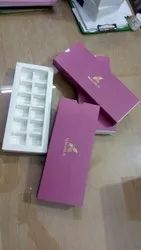 SBS Rectangle Chocolate Boxes For Packaging