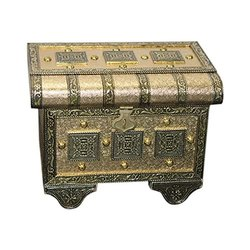 Ganesh Handicraft Rectangle Rajasthani Jewellery Box, For Gifts, Size/Dimension: Free Size