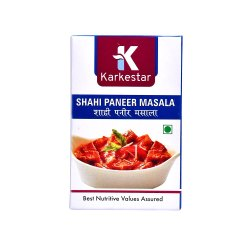 Karkestar Shahi Paneer Masala, Packaging Size: 100 g, Packaging Type: Box