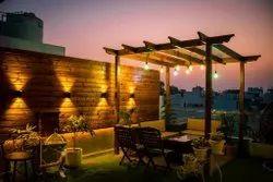 Residential Terrace Garden Designing Service