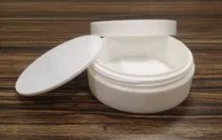 150 Gram White Cosmetic Container