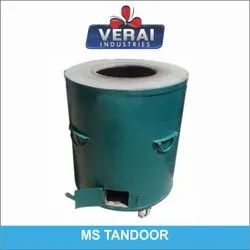 Mild Steel Round MS Tandoor, For Hotel