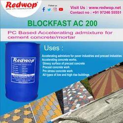Redwop Concrete Admixture Blockfast Ac200, For Construction, Packaging Type: Drum