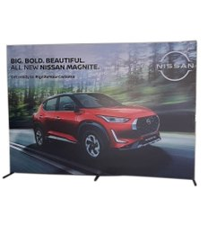 Acrylic Rectangle Flex Marketing Display Banner, For Advertising