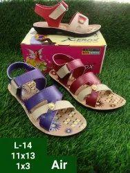 Xerox Girls PVC Casual Wear Sandal, Size: 11