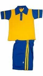 Summer Cotton Kids School Uniform, Size: Small