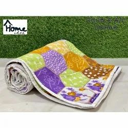 Polyester Double Bed AC Dohar Blanket