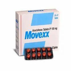 Movexx (Aceclofenac Tablets IP)