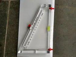 Acrylic Inclined Tube Manometer