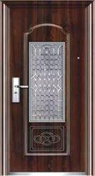 Brown Stainless Steel SS Single Door