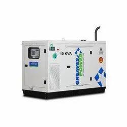 10 kVA Greaves Power Diesel Generator, 3 Phase