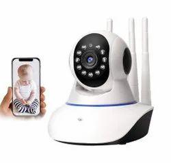 AUSHA Full HD Smart WiFi Wireless IP CCTV Security Camera with WiFi Wireless Connectivity