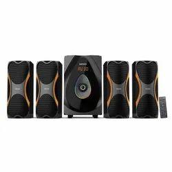Heavy Giz Squad Pro 4109 Gizmore 4.1 Speaker, Size: Big Size