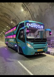 Semi  sleeper Coach AC 12 meter & 11 Meter sleeper valid dickey Volvo pattern body