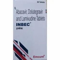 Abacavir , Dolutegravir And Lamivudine Tablet