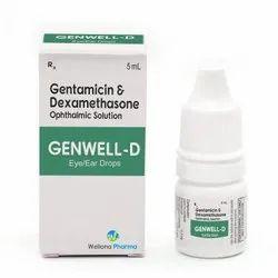 Gentamicin & Dexamethasone Eye/ear Drop ( Gentakem - D)10 Ml