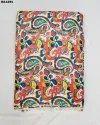 Bautiful Semi Velvet Sateen Silk Digital Print Fabric