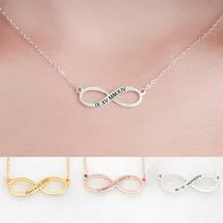Silver Infinity Summer Necklace