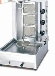 3 Burner Shawarma Machine