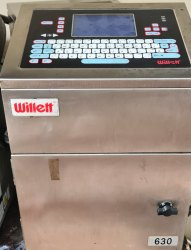 Willet 630 Continuous inkjet printer
