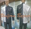 Black And White Chef Uniform