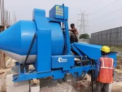Mobile Concrete Batching System