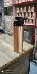 RK Exports Natural Corporate Gift Copper Sipper, For Gym, Capacity: 950 Ml