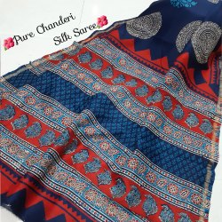 Exclusive Designer Chanderi Silk Saree