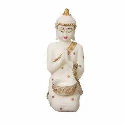 Antique Look Praying/ Namste Buddha Statue