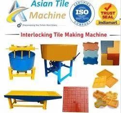INTERLOCKING PAVER BLOCK MAKING MACHINE