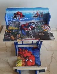 Spiderman Kids Study Table And Chair