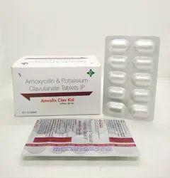 Amoxycillin 250 mg & Potassium Clavulanate 125 mg Tablets IP (Amrofix Clav Kid)