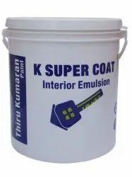 Matt 10 Liter K Super Coat Interior Emulsion Paint
