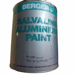 High Gloss Berger Salvaline Aluminium Paint, Packaging Type: Can, Packaging Size: 20 L