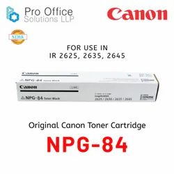 Canon NPG 84 Toner Cartridge For Use In  IR 2625 2630 2645