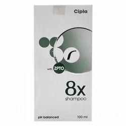 8X Shampoo 100 Ml