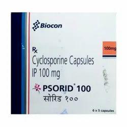 Cyclosporine Capsules IP 100 mg