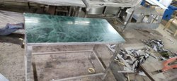 Marble Top SS Table
