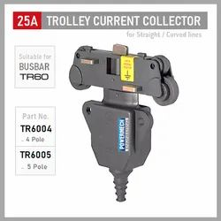 25 Amp Trolley Current Collector