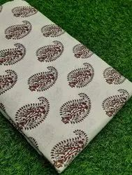 Exclusive Pure Cotton Hand Block Fabric Suit