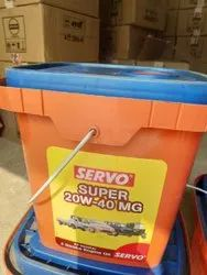 Cars,Trucks And Tractor Truck Servo Super Mg 20w 40 Lubricating Oil, Unit Pack Size: 5